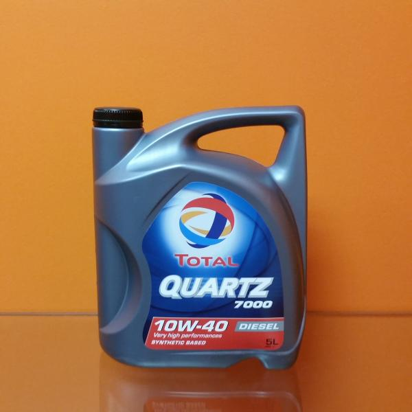 Engine oil 10W-40 TOTAL QUARTZ 7000 DIESEL 5L