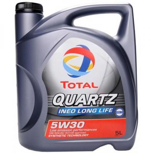 Engine oil 5W-30 TOTAL QUARTZ INEO LONG LIFE 5L