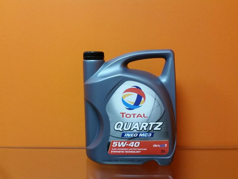 Engine oil 5W-40 TOTAL QUARTZ INEO MC3 5L