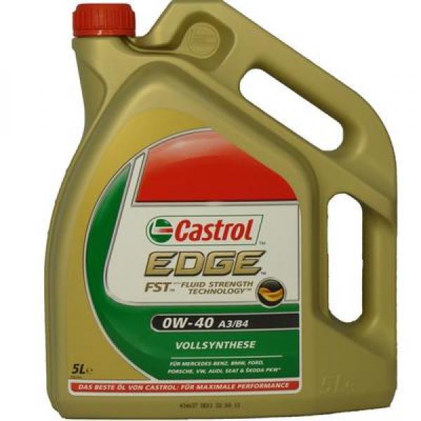 Mootoriõli 0W-40 CASTROL EDGE FST A3/B4 5L