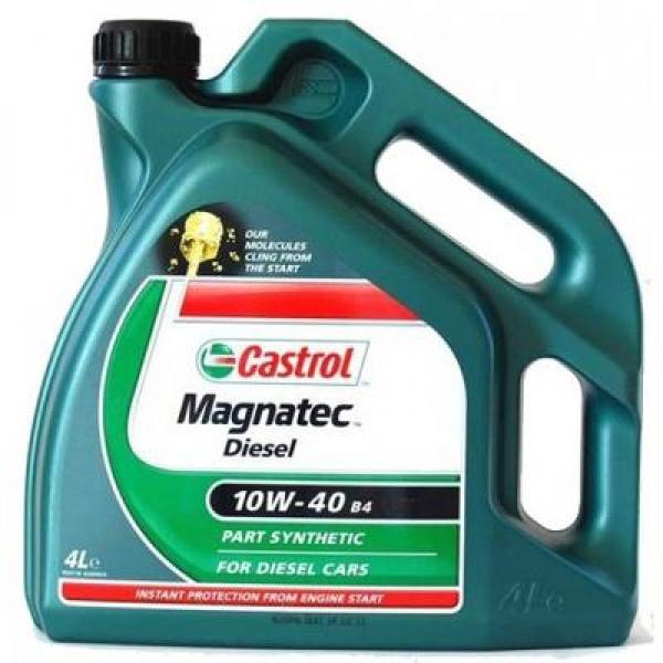 Mootoriõli 10W-40 CASTROL MAGNATEC DIESEL 4L