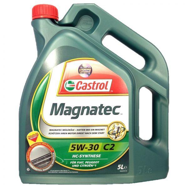 Motor oil 5W-30 CASTROL MAGNATEC C2 5L