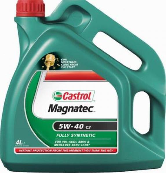 Mootoriõli 5W-40 CASTROL MAGNATEC C3 4L