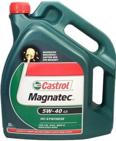 Mootoriõli 5W-40 CASTROL MAGNATEC C3 5L