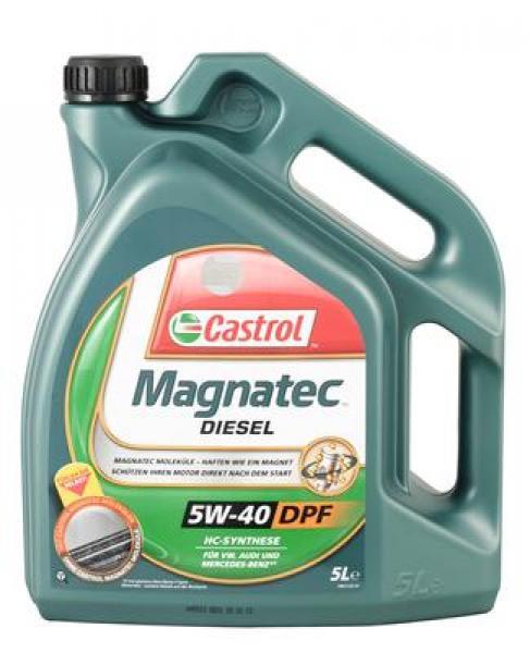 Mootoriõli 5W-40 CASTROL MAGNATEC DIESEL DPF 5L