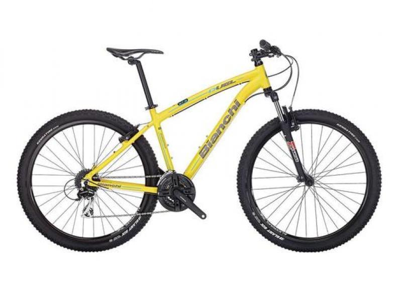 Jalgratas Bianchi Duel 27.2, 48cm kollane