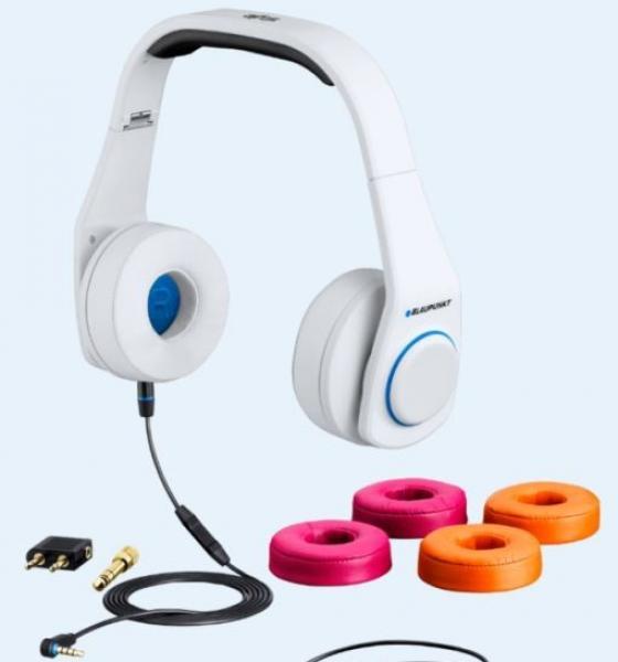 Style 2013 (valge) ,kõrvaklapid, Blaupunkt
