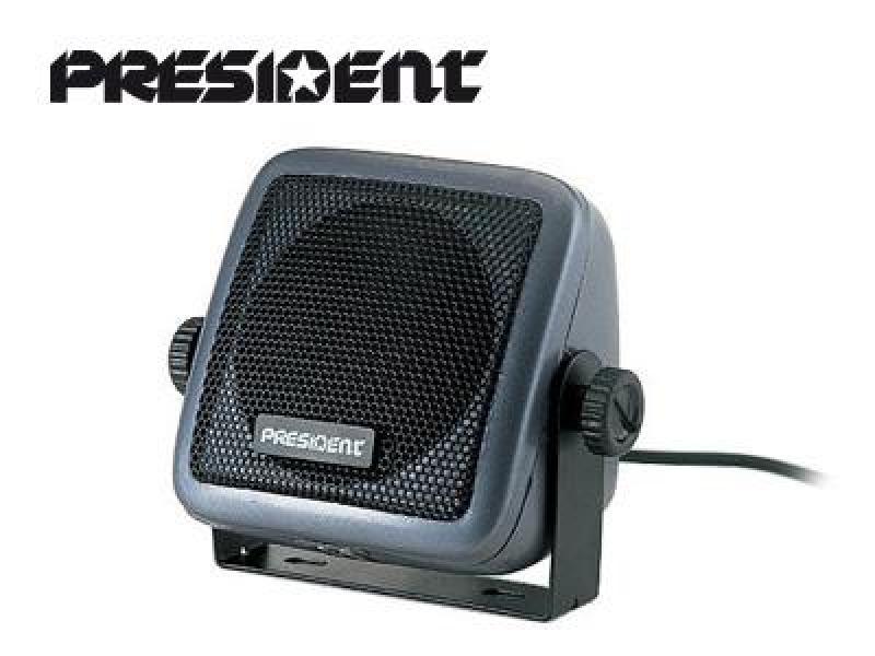 Lisakõlar 5W, CB- raadiojaamale President mõõtmed: 80x80mm