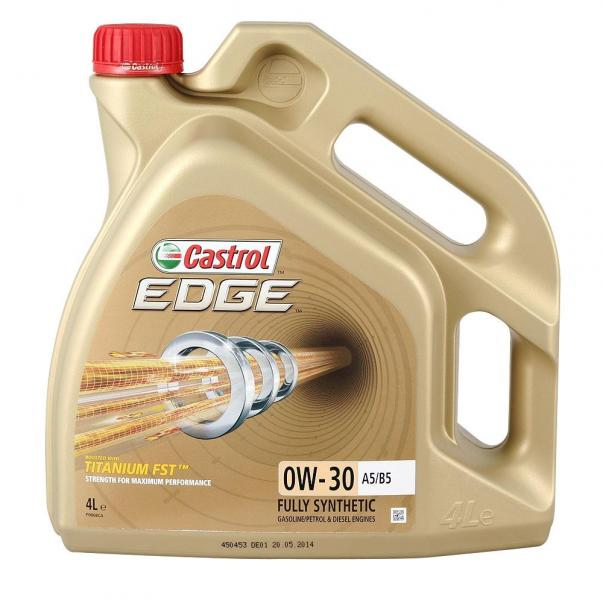 Mootoriõli 0W-30 Castrol Edge Titanium FST 4L