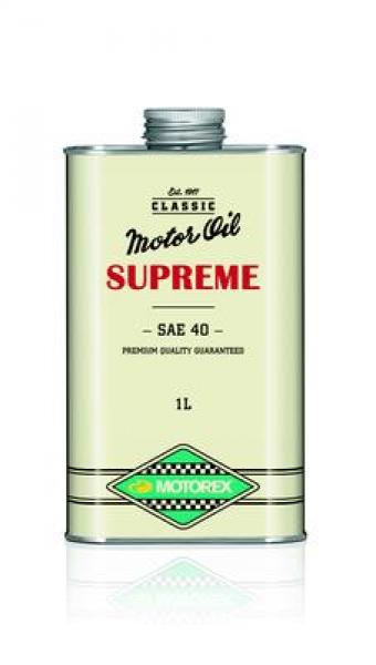 Mootoriõli uunikumidele Motorex Classic Supreme SAE 40 (1930-1960) 1L