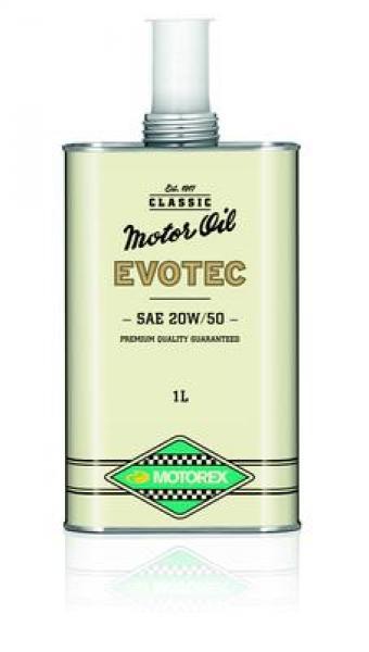 Mootoriõli uunikumidele Motorex Classic Evotec SAE 20W50 (1970-1990) 1L