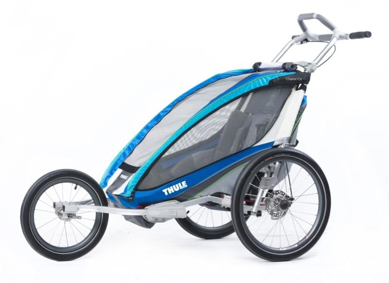 Lastekäru CX1+Cycle,Blue 14- THULE