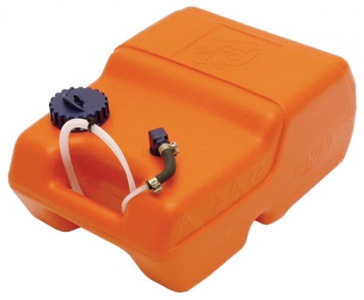 Kütusepaak plast, 12L oranž, paadile