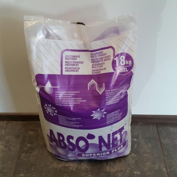 Absorbent SUPERIOR PLUS 18KG/32L