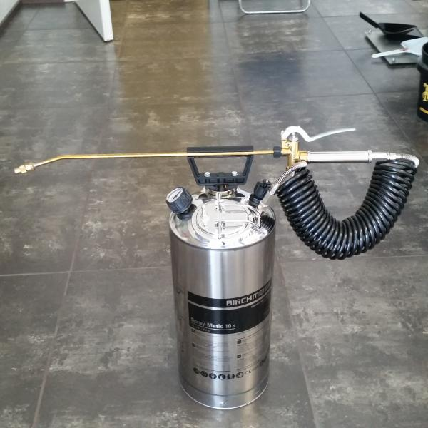 Surveprits Spray-matic 10S roostevaba 10L