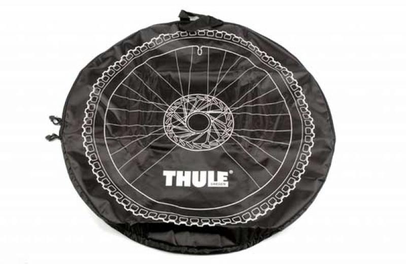 Transpordikott esirattale, must XL THULE 563