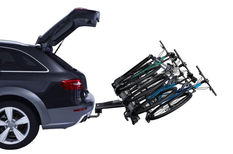Jalgrattahoidja veokonksule VeloCompact 927 3-le jalgrattale, 7 pin. THULE