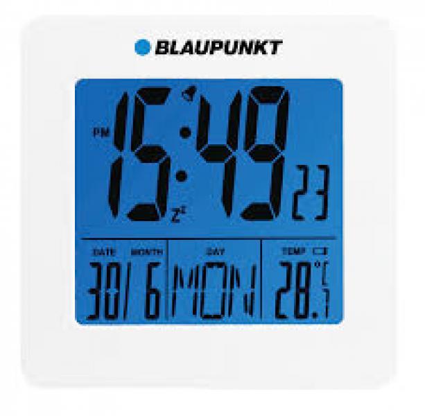 CL02WH Kell alarmi, temperatuuri näidu ja kuupäevaga