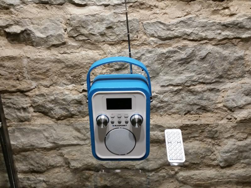 Kaasaskantav raadio akutoitega Blaupunkt PP20BL