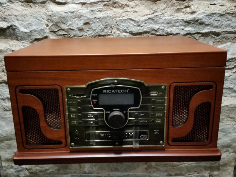 RMC250 Deluxe 6 in 1 muusikakeskus Paprika, Ricatech