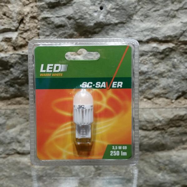Led-lamp G-9 3,5W, G9 - 250lm