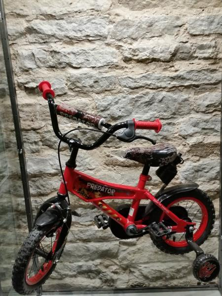 "Children's wheel Predator 12"" red"