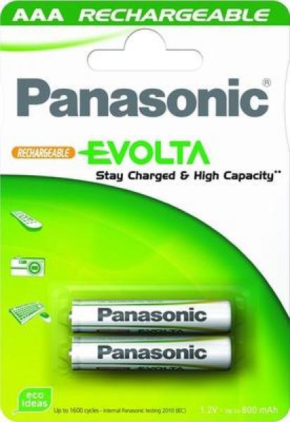 Akupatareid AAA Panasonic 750mAH 2tk