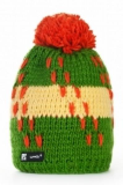 Kootud müts Woolk_Flame_014