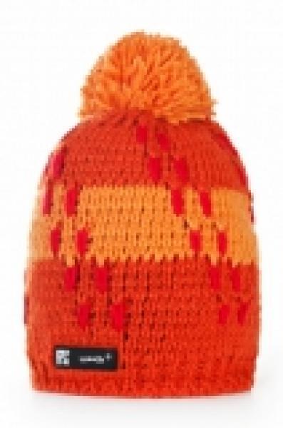 Kootud müts Woolk Flame 017