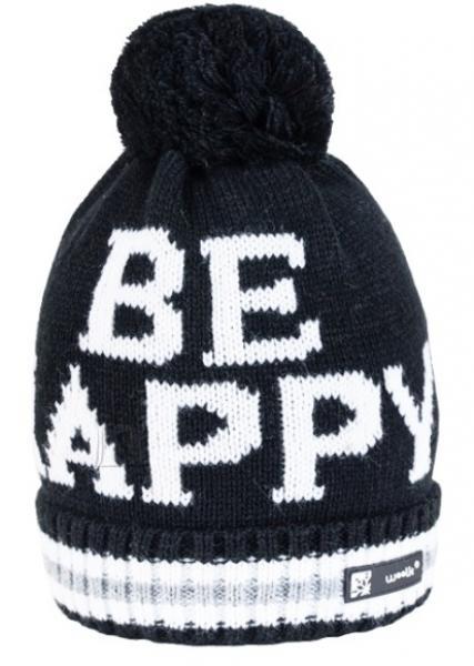 Kootud müts Woolk Happy 074