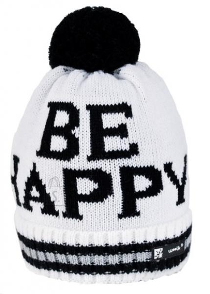 Kootud müts Woolk Happy 073