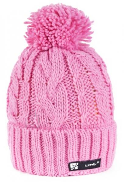 Kootud müts Woolk Iris 112