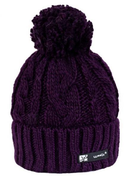 Kootud müts Woolk Iris 116