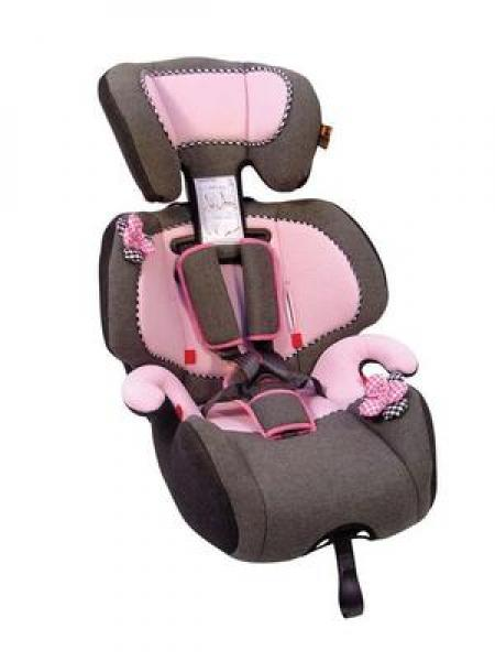 Safety seat / chair GIOTTO 9-36kg pink / gray
