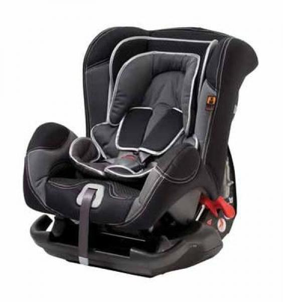 Safety chair LEONARDO 0-18KG black