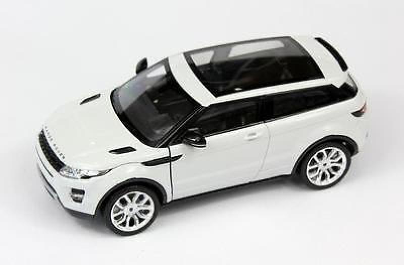 Mud.auto 1:24 Land Rover Evoque valge