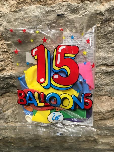 Õhupallid  15tk