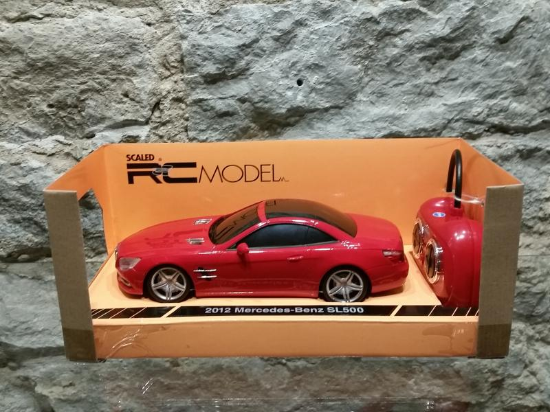 Raad. auto MB SL500 2012 1:24 Welly