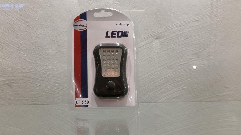 Töölamp väike 24 LED - patareideta