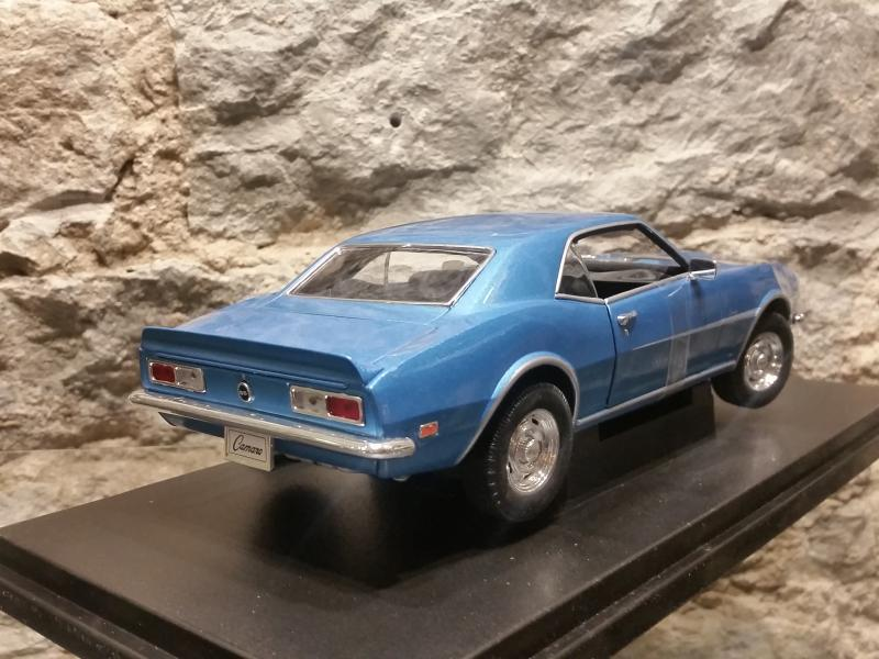Chevrolet Camaro SS396 mudel 1:18 Welly