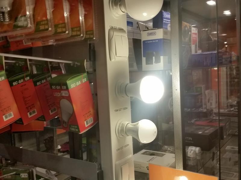 Led-lamp A65 15W E27 - 1.300lm