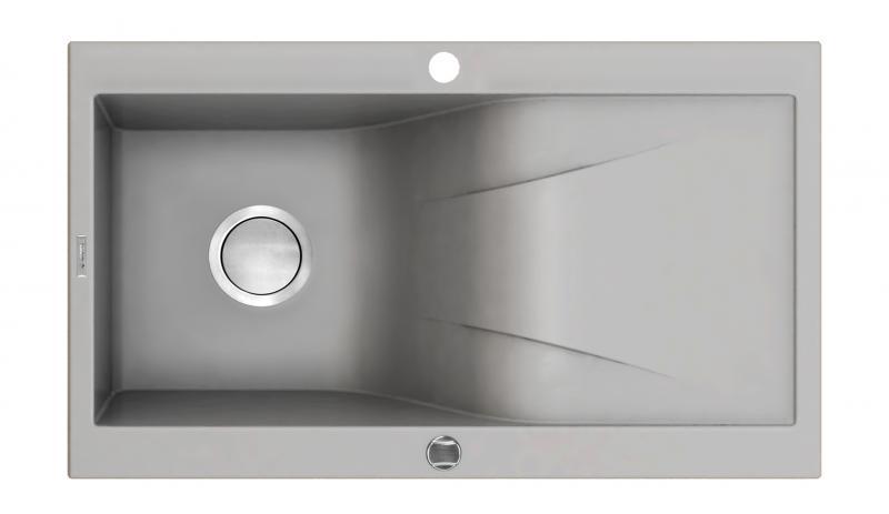 Graniitvalamu Rapsodia 1 - Hall, metallik 860x500mm