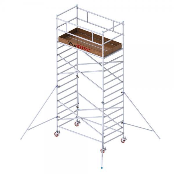 Ratastelling ProTUBE L6 Platvormi kõrgus 4,4m Töökõrgus 6,2m