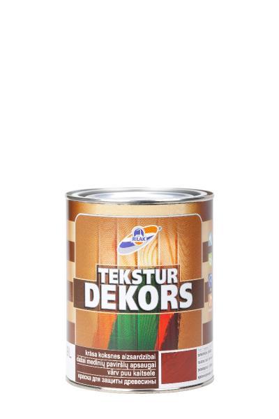 TEKSTURDEKORS  Dekoratiivne puidukaitsevahend 0,9l värvitu