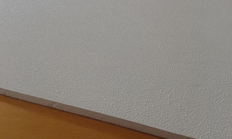 PVC'ga kaetud kipsplaat  30x60x0,8cm (sade beyaz)