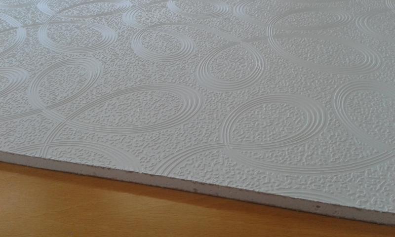 PVC'ga kaetud kipsplaat  30x60x0,8cm (spiral)