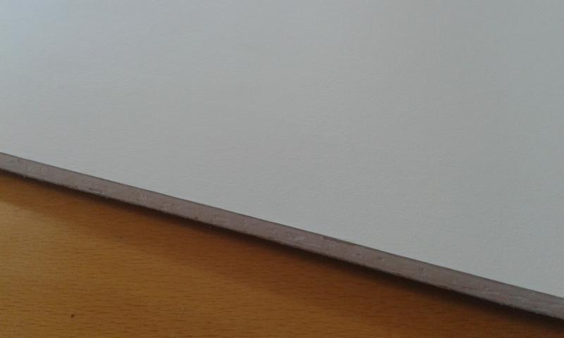 PVC'ga kaetud kipsplaat  30x60x0,8cm (hygen)