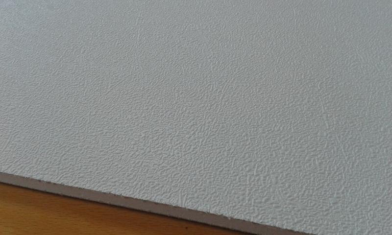 PVC'ga kaetud kipsplaat  60x60x0,8cm (beyaz)