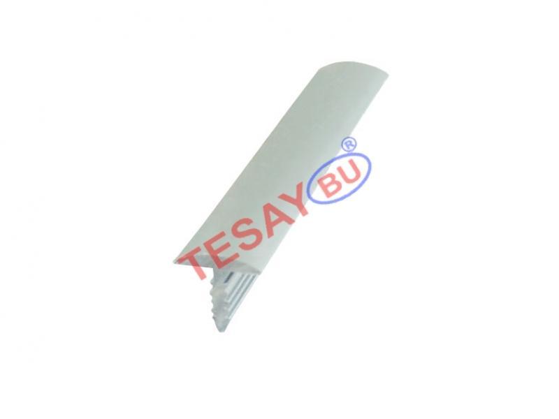 10 MM Alumiiniumist T profiil (kõverdatud) ( Matt anodeeritud )