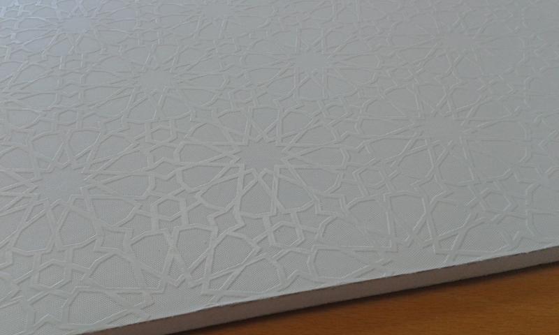 PVC'ga kaetud kipsplaat  60x60x0,8cm (harem)